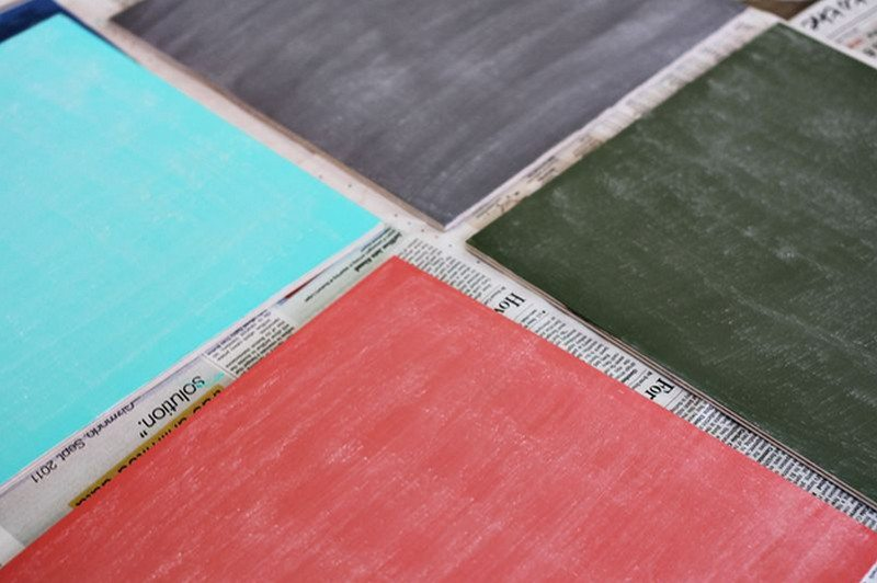 Coloured Chalkboards