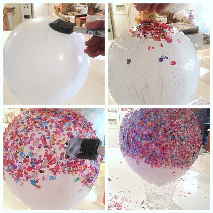 Confetti Bowl Step 01