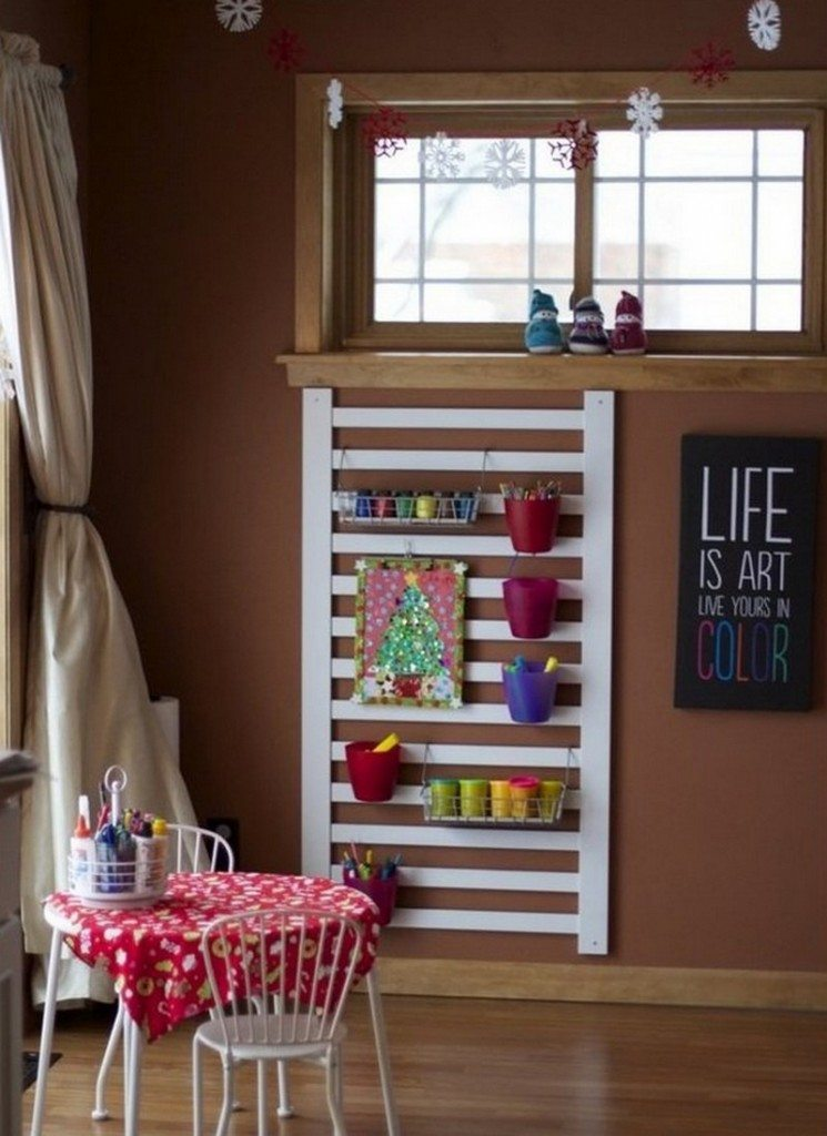 A space to help your kids stay organised