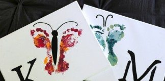 Hand and Footprint Art