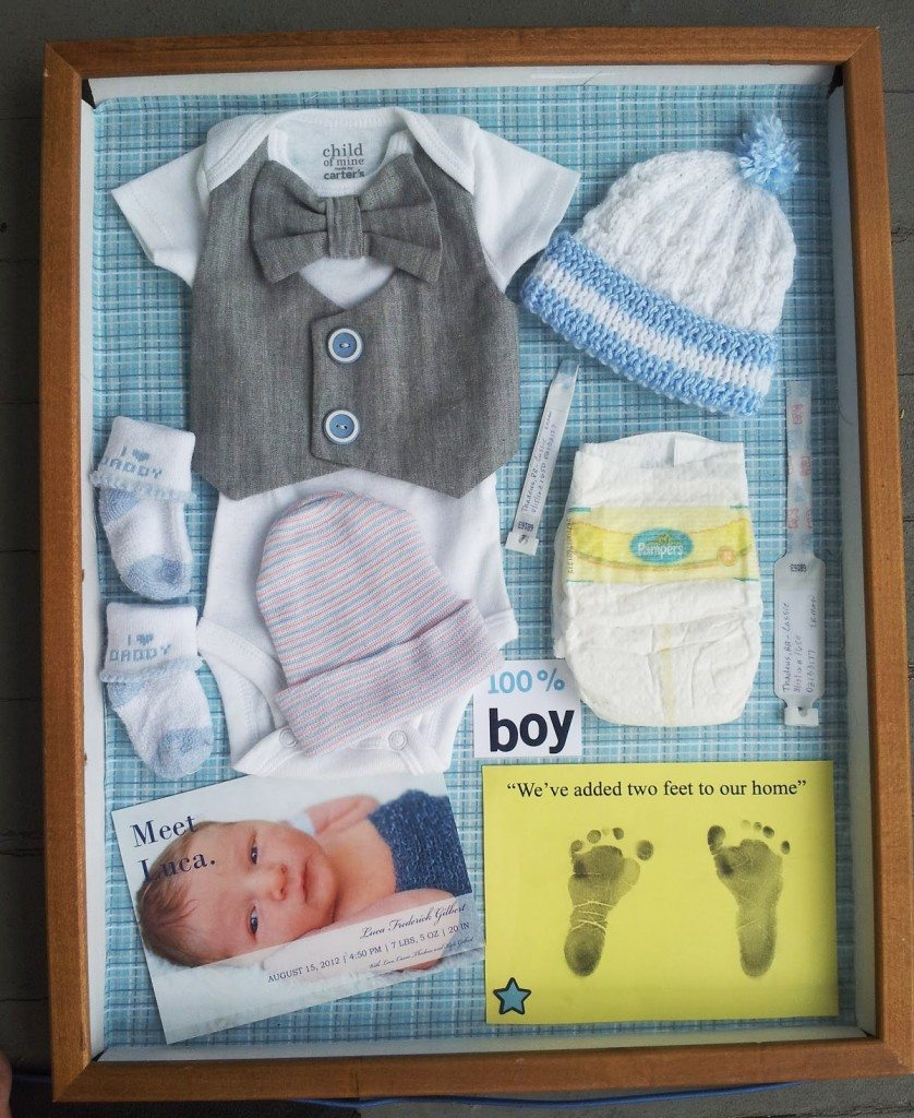 Baby Memories Shadowbox