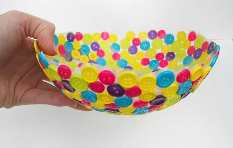 Button Bowl - finished product