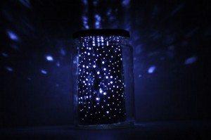 DIY Constellation Jar Lamp