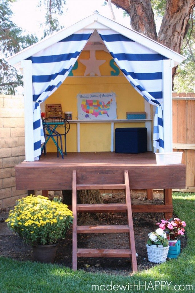 Outdoor Playhouse Design