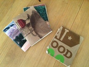 Journal with Upcycled Materials