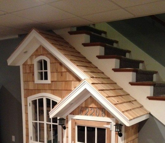 Under Stairs Playhouse