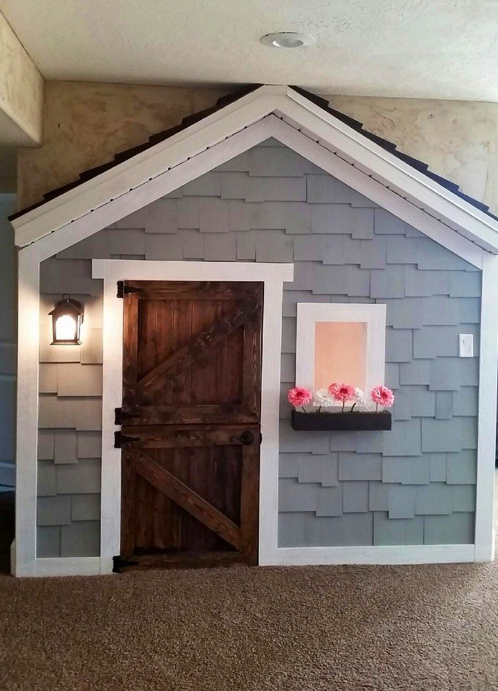 Under The Stairs Indoor Playhouse Little Fingers