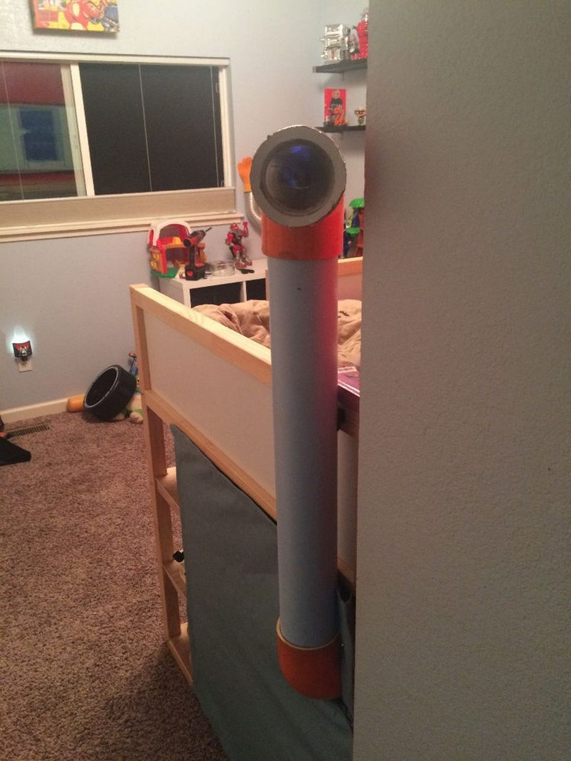how to make a periscope with pvc pipe