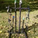 PVC Archery Bow Stand