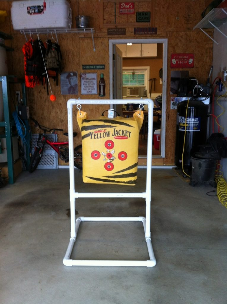 PVC Archery Target Stand