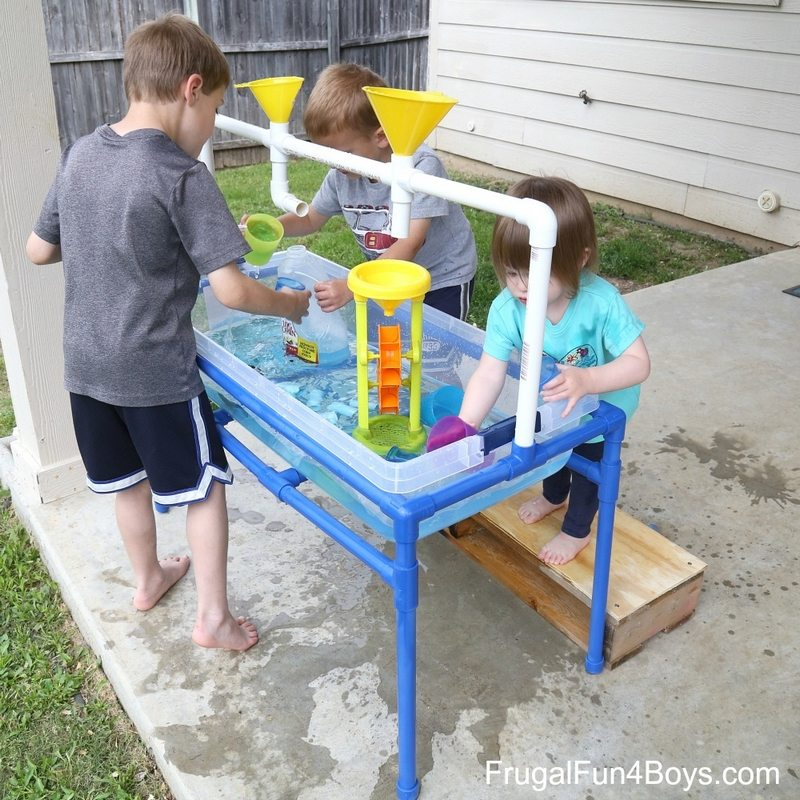 PVC Sand and Water Table