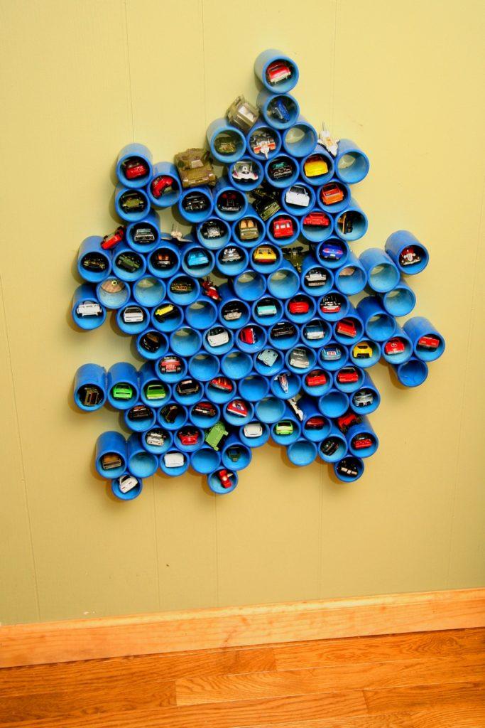PVC Toy Car Storage