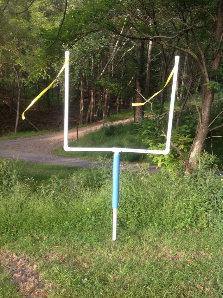 PVC Football and Soccer Goal Posts