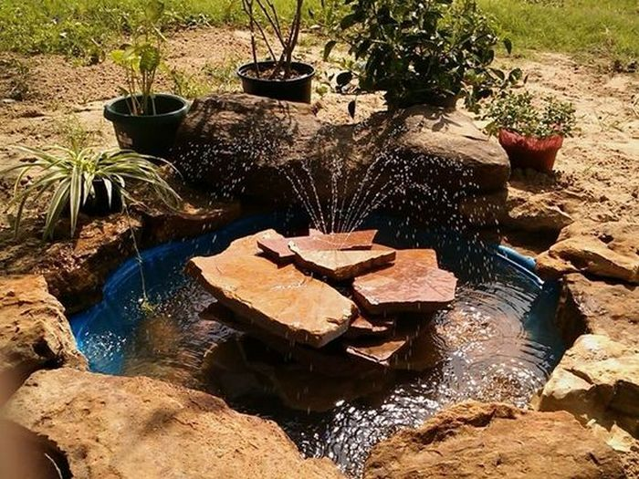 How To Make An Outdoor Lounge Using A Kiddie Pool Little