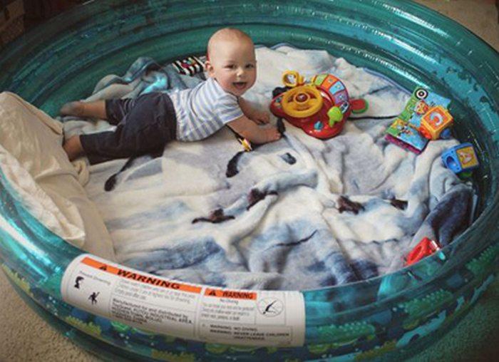 Baby Pool Hacks