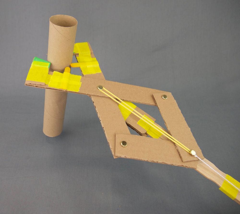 This DIY articulated grabber promotes learning in a fun way.